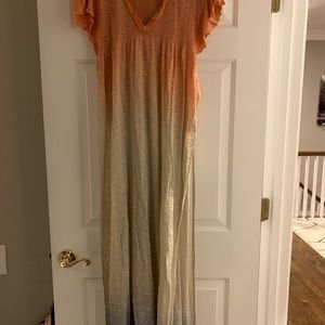 Free People Full Length Sweater Shirt